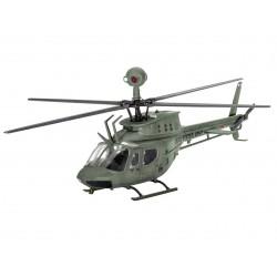 """Plastic ModelKit vrtulník 04938 - Bell OH-58D """"Kiowa"""" (1:72)"""