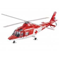 Plastic ModelKit vrtulník 04941 - Agusta A-109 K2 (1:72)