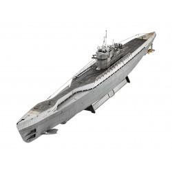 Plastic ModelKit ponorka 05133 - German Submarine Type IX C/40 (1:72)