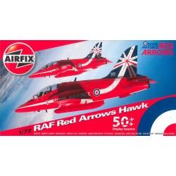 Classic Kit letadlo A02005B - Red Arrows Hawk (1:72)
