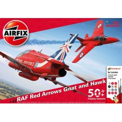 Gift Set letadlo A50159 - Red Arrows 50 Display Season (1:48)