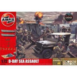 Gift Set diorama A50156 - D-Day Sea Assault (1:72)