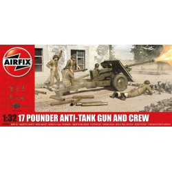 Classic Kit military A06361 - 17 Pdr Anti-Tank Gun (1:32) - reedice