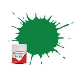 Humbrol barva akryl AB0002 - No 2 Emerald - Gloss - 12ml