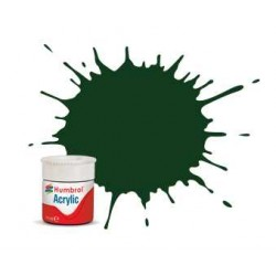 Humbrol barva akryl AB0003 - No 3 Brunswick Green - Gloss - 12ml