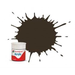 Humbrol barva akryl AB0010 - No 10 Service Brown - Gloss - 12ml