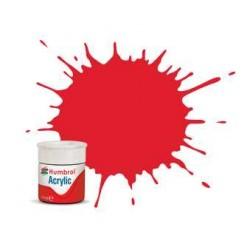 Humbrol barva akryl AB0019 - No 19 Red - Gloss - 12ml