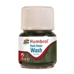 Humbrol barva email AV0203 - Wash - Dark Green 28ml