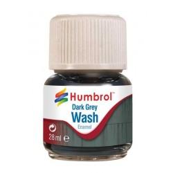 Humbrol barva email AV0204 - Wash - Dark Grey 28ml