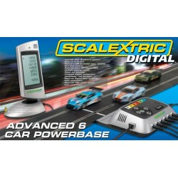 Příslušenství SCALEXTRIC C7042 - Digital 6-Car Powerbase