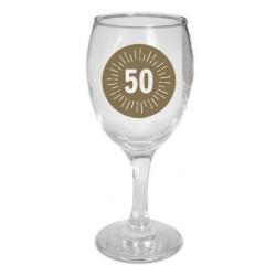"""Pohár na víno """"50"""""""