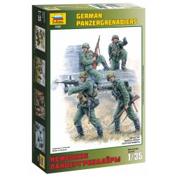 Model Kit figurky 3582 - German Panzergrenadiers (1:35)
