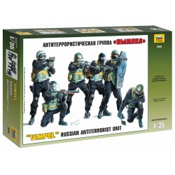 "Model Kit figurky 3598 - Russian Antiterrorist Group ""Vympel"" (1:35)"
