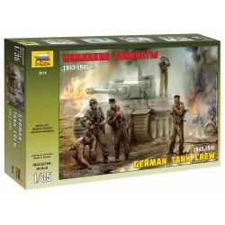 Model Kit figurky 3614 - German Tank Crew (1943-1945) (1:35)