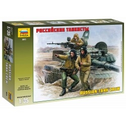 Model Kit figurky 3615 - Russian Modern Tank Crew (1:35)