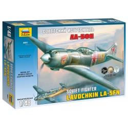 Model Kit letadlo 4801 - La-5 FN Soviet Fighter (1:48)