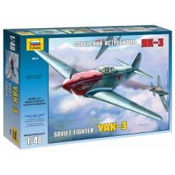 Model Kit letadlo 4814 - YAK-3 Soviet WWII Fighter (1:48)