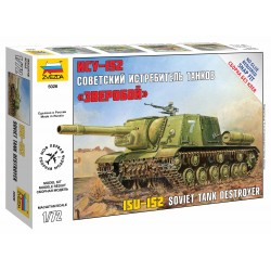 Snap Kit military 5026 - Self Propelled Gun ISU-152 (1:72)