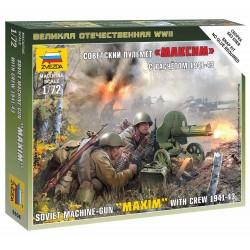 Wargames (WWII) figurky 6104 - Soviet Machinegun Crew 1941 (1:72)