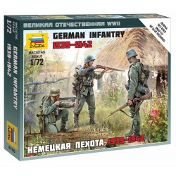 Wargames (WWII) figurky 6105 - German Infantry East Front 1941 (1:72)