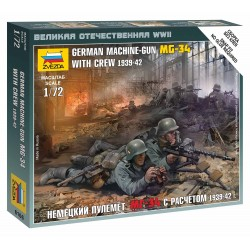 Wargames (WWII) figurky 6106 - German Machinegun Crew East Front 1941 (1:72)