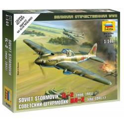 Wargames (WWII) letadlo 6125 - Ilyushin IL-2 Stormovik (1:144)