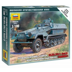 Wargames (WWII) military 6127 - Sd.Kfz.251/1 Ausf.B (1:100)