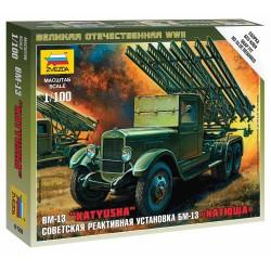 Wargames (WWII) military 6128 - BM-13 Katyusha (1:100)
