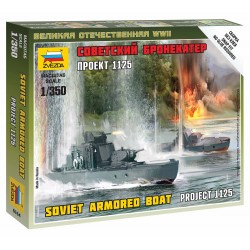 Wargames (WWII) loď 6164 - Soviet Armored Boat (1:72)