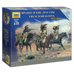 Wargames figurky 6812 - French Dragoons (1:72)