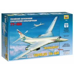 Model Kit lietadlo 7002 - Tupolev TU-160 Russian Strategic Bomber (1: 144)