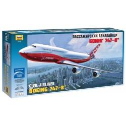Model Kit letadlo 7010 - Boeing 747-8 (1:144)