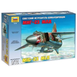 Model Kit lietadlo 7218 - MIG-23 MLD Soviet Fighter (re-release) (1:72)
