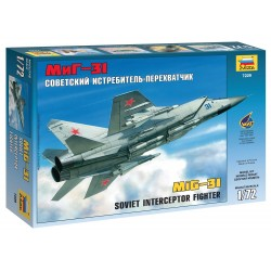Model Kit lietadlo 7229 - MIG-31 Soviet Interceptor (1:72)