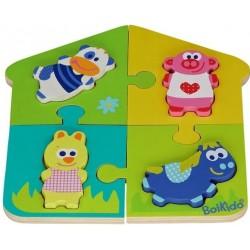 Boikido Dvoj-puzzle Farma
