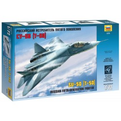 Model Kit lietadlo 7275 - Sukhoi T-50 Russian Stealth Fighter (1:72)