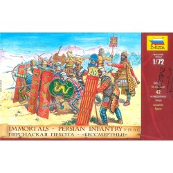 Wargames (AOB) figúrky 8006 - Persian Infantry (re-release) (1:72)