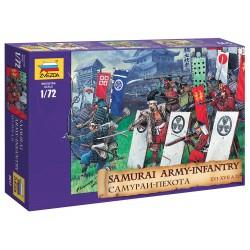 Wargames (AOB) figúrky 8017 - Samuray Infantry XVI-XVII AD (1:72)