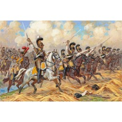 Wargames (AOB) figúrky 8035 - Saxon Cuirassiers 1810-1814 (1:72)