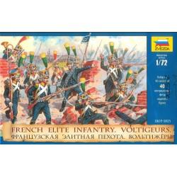 Wargames (AOB) figúrky 8042 - French Elite Infantry Voltigeurs (re-release) (1:72)