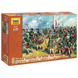 Wargames (AOB) figúrky 8049 - Russian Infantry (Peter the Great) (1:72)