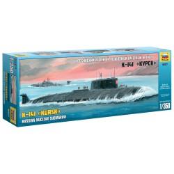 "Model Kit ponorka 9007 - Nuclear Submarine APL ""Kursk"" (1:350)"