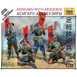 Wargames (SB) figurky 6402 - Ashigaru with arquebus (1:72)