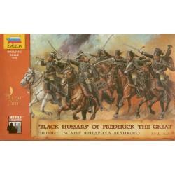Wargames (AOB) figúrky 8079 - Black Hussars (1:72)