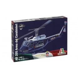 Model Kit vrtulník 2739 - AB 205 Arma dei Carabinieri (1:48)