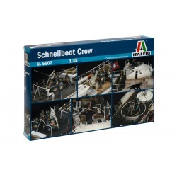 Model Kit figurky 5607 - SCHNELLBOOT CREW (1:35)