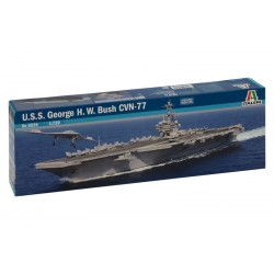 Model Kit loď 5534 - U.S.S. GEORGE H.W.BUSH CVN 77 (1:720)
