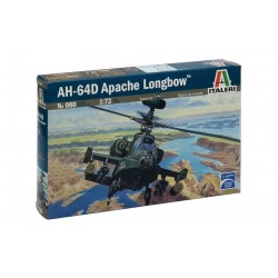 Model Kit vrtulník 0080 - AH-64 D APACHE LONGBOW (1:72)
