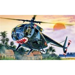 Model Kit vrtulník 1028 - OH-6 A CAYUSE (1:72)