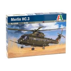 Model Kit vrtulník 1316 - MERLIN HC.3 (1:72)